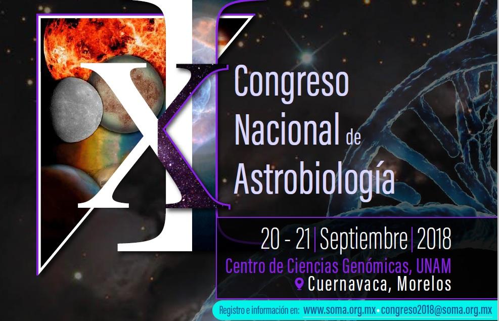 XI Congreso Nacional de Astrobiología