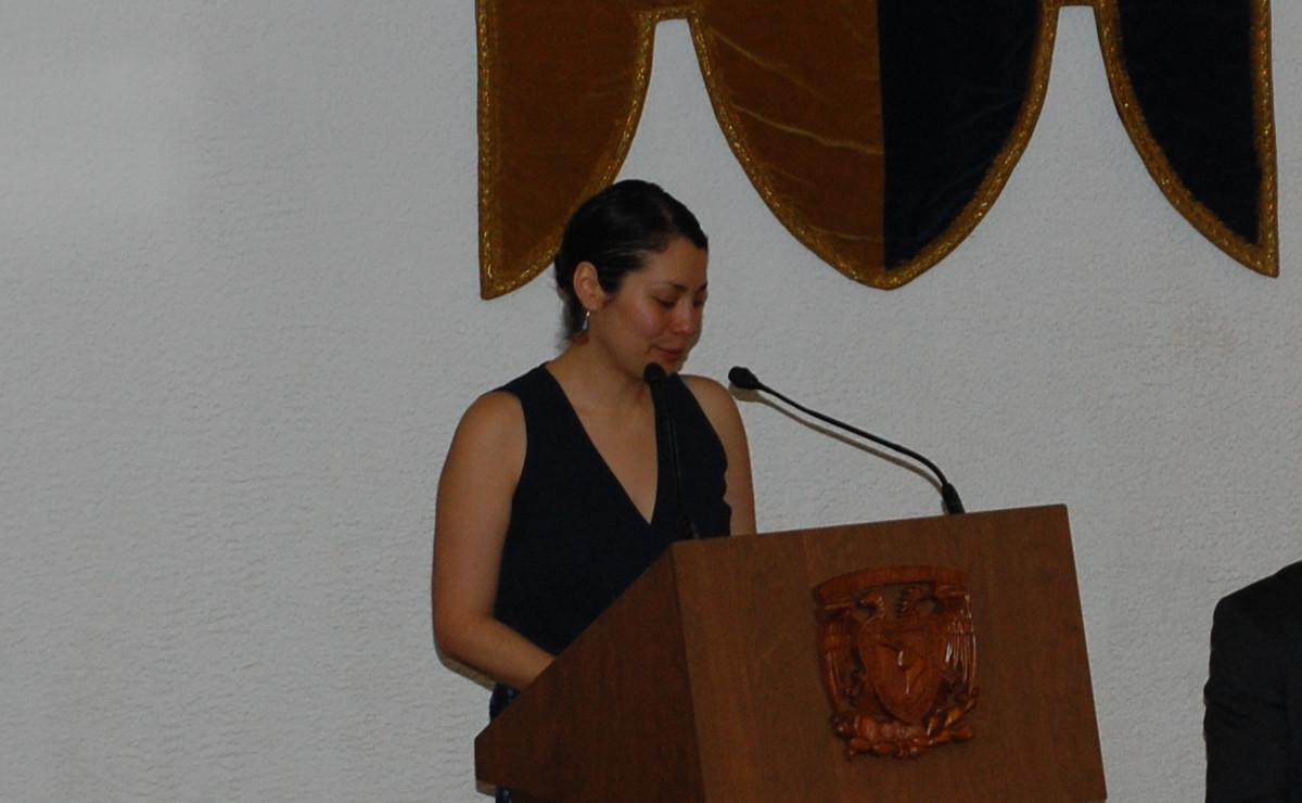 Dra. María Avila, egresada de la LCG