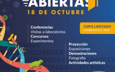 Día de Puertas Abiertas CCG UNAM