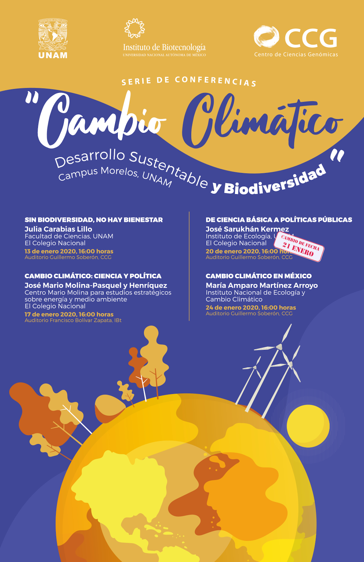 Ciclo de conferencias sobre Cambio Climático