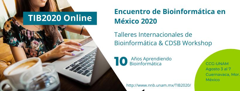 Encuentro de Bioinformática en México 2020