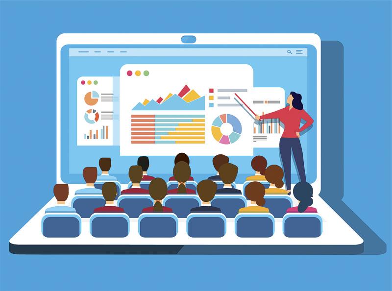 Aulas virtuales para videoconferencias