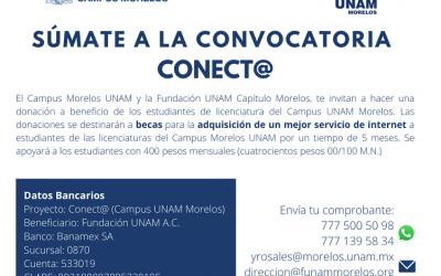 SÚMATE A LA CONVOCATORIA CONECTA